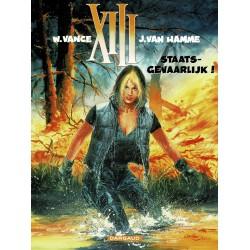 XIII - 014 Staatsgevaarlijk! - eerste druk 2000