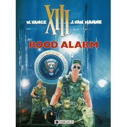 XIII - 005 Rood alarm - eerste druk 1988