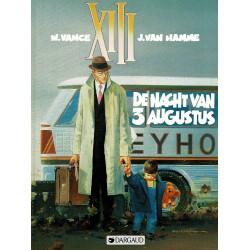 XIII - 007 De nacht van 3 augustus - eerste druk 1990