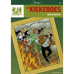 De Kiekeboes - 095 Alles kitsch - herdruk - Standaard Uitgeverij, 3e reeks
