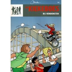 De Kiekeboes - 114 Bij verdiensten - herdruk - Standaard Uitgeverij, 3e reeks