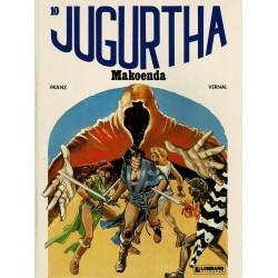 Jugurtha - 010 Makoenda - eerste druk 1983 - Lombard uitgaven