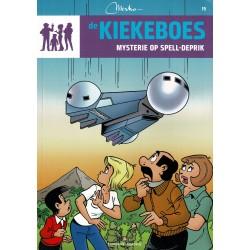 De Kiekeboes - 015 Mysterie op Spell-Deprik - herdruk - Standaard Uitgeverij, 3e reeks