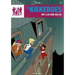 De Kiekeboes - 084 Het lijk had gelijk - herdruk - Standaard Uitgeverij, 3e reeks