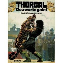 Thorgal - 004 De zwarte galei - eerste druk 1982