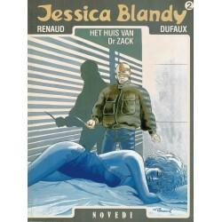 Jessica Blandy - 002 Het huis van Dr. Zack - eerste druk 1987 - Novedi uitgaven