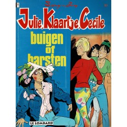 Julie, Klaartje, Cécile - 010 Buigen of barsten - eerste druk 1993