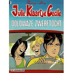Julie, Klaartje, Cécile - 011 Doldwaze zwerftocht - eerste druk 1994