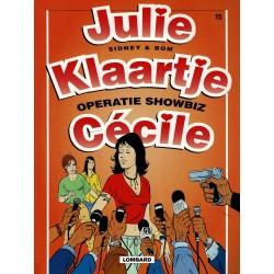 Julie, Klaartje, Cécile - 015 Operatie showbiz - eerste druk 2000