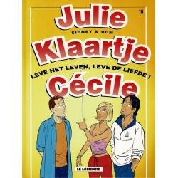 Julie, Klaartje, Cécile - 016 Leve het leven, leve de liefde! - eerste druk 2001