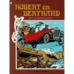 Robert en Bertrand - 009 Het zilveren raadsel - herdruk - Standaard uitgaven - 2e reeks