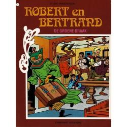 Robert en Bertrand - 011 De groene draak - herdruk - Standaard uitgaven - 2e reeks