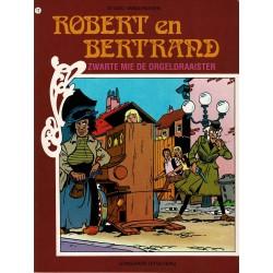 Robert en Bertrand - 012 Zwarte Mie de orgeldraaister - herdruk - Standaard uitgaven - 2e reeks
