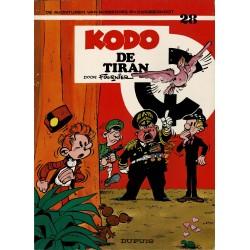 Robbedoes en Kwabbernoot - 028 Kodo de tiran - eerste druk 1979
