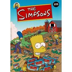 The Simpsons - 025 Water of niets + Thanksgiving! - eerste druk 2004