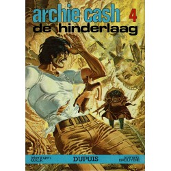 Archie Cash - 004 De hinderlaag - eerste druk 1976