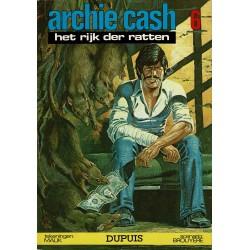 Archie Cash - 006 Het rijk der ratten - eerste druk 1977