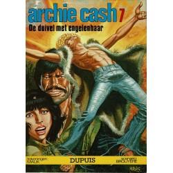 Archie Cash - 007 De duivel met engelenhaar - eerste druk 1978