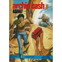 Archie Cash - 008 Asfalt - eerste druk 1982