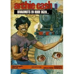 Archie Cash - 009 Bivakmuts en rode ogen … - eerste druk 1983