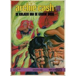 Archie Cash - 010 De krijger van de groene dood - eerste druk 1984