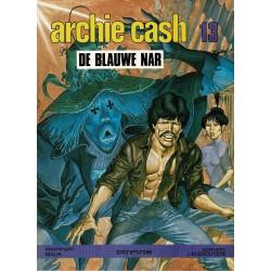 Archie Cash - 013 De blauwe nar - eerste druk 1987