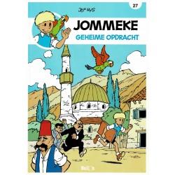 Jommeke - 027 Geheime opdracht - herdruk - nieuwe cover