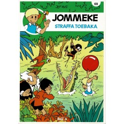 Jommeke - 069 Straffa Toebaka - herdruk - nieuwe cover