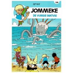 Jommeke - 188 De vurige inktvis - herdruk - nieuwe cover