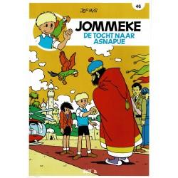 Jommeke - 046 De tocht naar Asnapije - herdruk - nieuwe cover