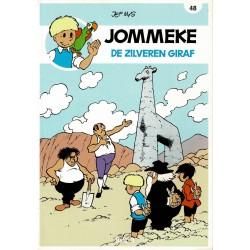 Jommeke - 048 De zilveren giraf - herdruk - nieuwe cover