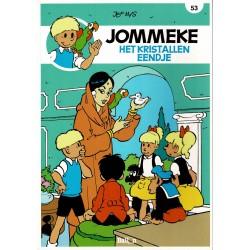 Jommeke - 053 Het kristallen eendje - herdruk - nieuwe cover