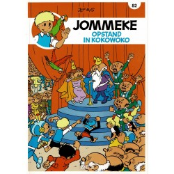 Jommeke - 082 Opstand in Kokowoko - herdruk - nieuwe cover