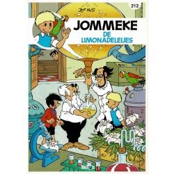 Jommeke - 212 De limonadelelies - herdruk - nieuwe cover