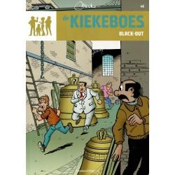 De Kiekeboes - 048 Black-out - herdruk - Standaard Uitgeverij, 3e reeks