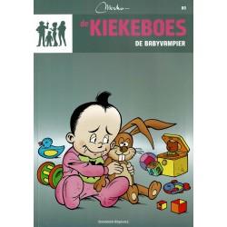 De Kiekeboes - 080 De babyvampier - herdruk - Standaard Uitgeverij, 3e reeks