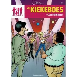 De Kiekeboes - 123 Vluchtmisdrijf - herdruk - Standaard Uitgeverij, 3e reeks