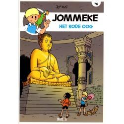 Jommeke - reclameuitgaven Story - B13 Het rode oog (76) - herdruk 2016