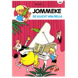 Jommeke - reclameuitgaven Story - B21 De vlucht van Bella (104) - herdruk 2016