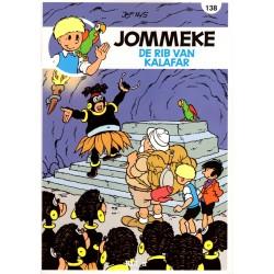 Jommeke - reclameuitgaven Story - B30 De rib van Kalafar (138) - herdruk 2015