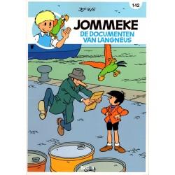 Jommeke - reclameuitgaven Story - B33 De documenten van Langneus (142) - herdruk 2016