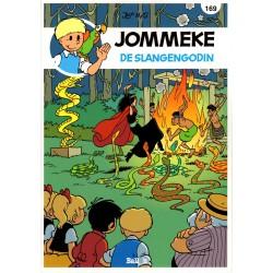 Jommeke - reclameuitgaven Story - B42 De slangengodin (169) - herdruk 2016