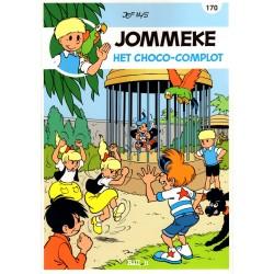 Jommeke - reclameuitgaven Story - B43 Het Choco-complot (170) - herdruk 2015