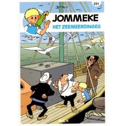Jommeke - reclameuitgaven Story - B54 Het zeemeerdinges (231) - herdruk 2016