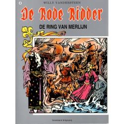De Rode Ridder - 022 De ring van Merlijn - herdruk - grijze cover, gelijmd