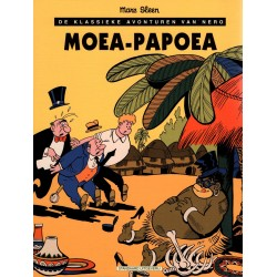 Nero - 010 Moea-Papoea - herdruk 1999 - De klassieke avonturen van Nero (in zwart-wit)