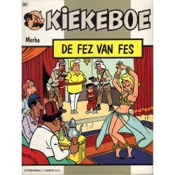 Kiekeboe - 039 De fez van Fes - eerste druk 1988 - Uitgeverij Hoste, in kleur