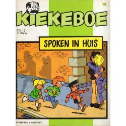 Kiekeboe - 011 Spoken in huis - herdruk - Uitgeverij Hoste, ongekleurd