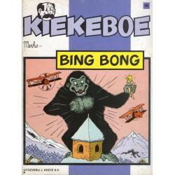 Kiekeboe - 018 Bing Bong - herdruk - Uitgeverij Hoste, ongekleurd