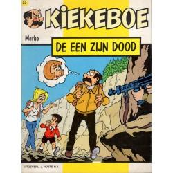 Kiekeboe - 033 De een zijn dood - herdruk - Uitgeverij Hoste, in kleur